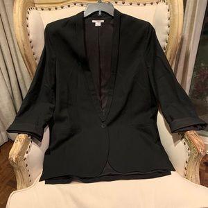 Helmut Lang wool blend black blazer